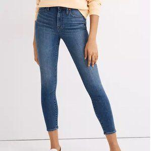 Madewell Curvy High Rise Skinny Crop Jeans NWT